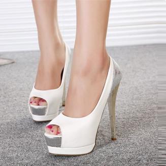 Bora Open High Heels