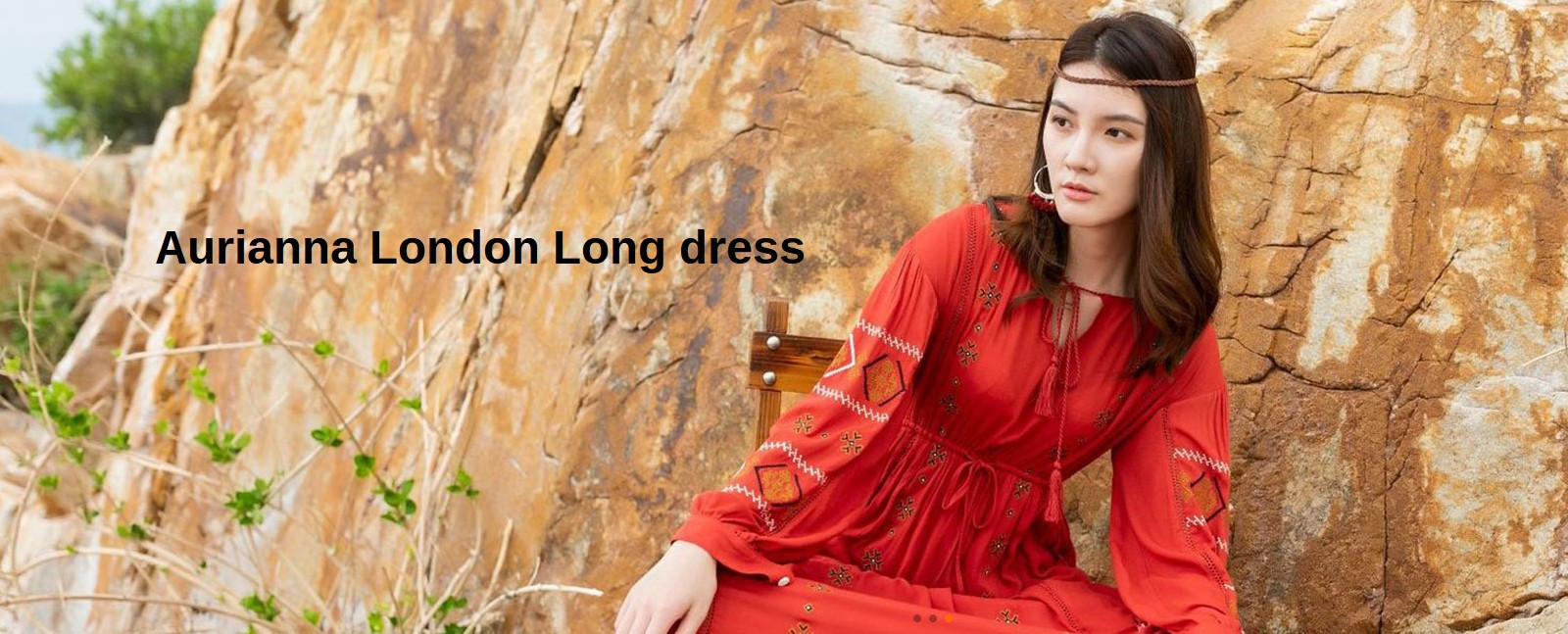 Aurianna London Long Dress