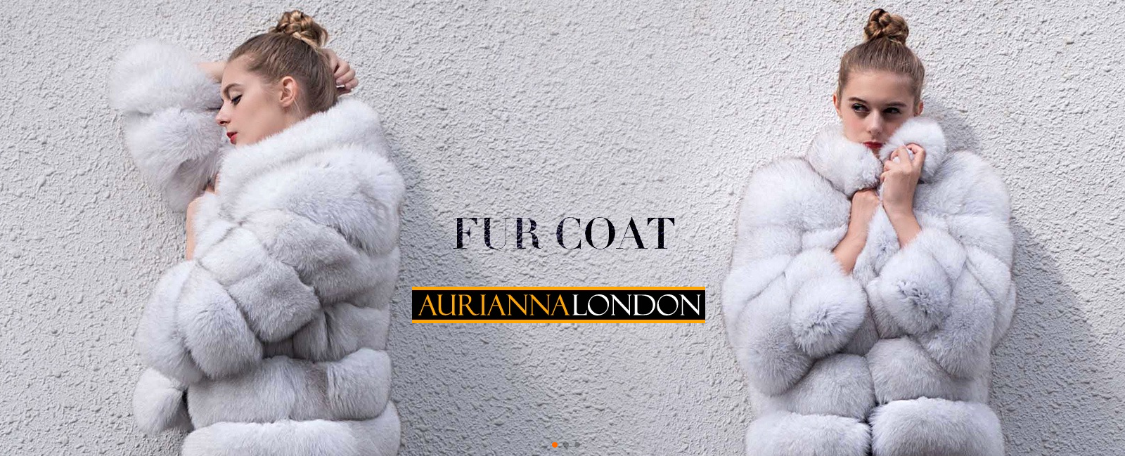 Aurianna London Fur Coat